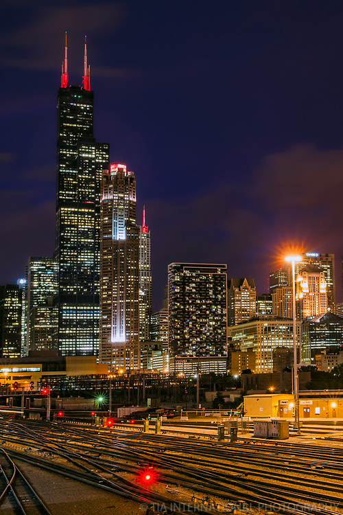 Chicago Skyline from Southgate Market
