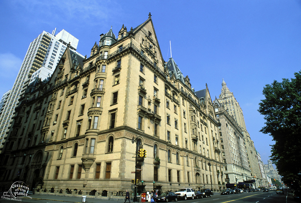 Dakota Building, 72nd Street, Central Park West, Manhattan, New York