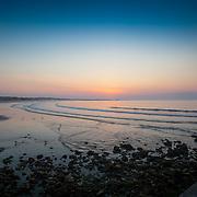 Today's  winter sunrise at Narragansett Town Beach,  .  May  31, 2013.