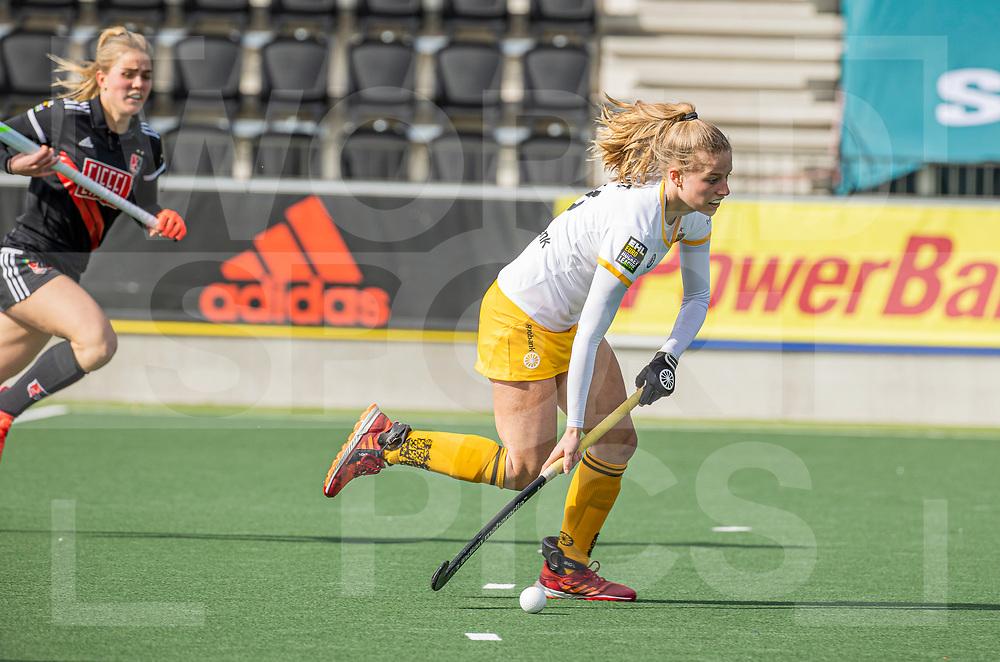 AMSTELVEEN -  tijdens  de hoofdklasse hockey competitiewedstrijd dames, Amsterdam-Den Bosch (0-1)  COPYRIGHT WORLDSPORTPICS KOEN SUYK