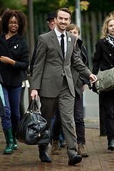 © London News Pictures. 19/10/2012. London, UK. Trenton Oldfield arriving at Isleworth Crown Court in West London, where he is due to be sentenced for a Public Order Act after he swam out into the Thames during the The boat race between Oxford and Cambridge. The incident forced the boats to stop and re-start from the halfway point. Photo credit : Ben Cawthra /LNP