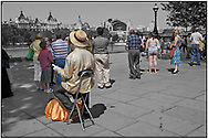 SERIES - DAY-TRIPPER SOUTH BANK by Paul Williams - Day Tripper - London South Bank is a selective colour street photography series by photographer Paul Williams  of tourists enjoying the street entertainers alonf the South Bank London taken in 2008 . .<br /> <br /> Visit our REPORTAGE & STREET PEOPLE PHOTO ART PRINT COLLECTIONS for more wall art photos to browse https://funkystock.photoshelter.com/gallery-collection/People-Photo-art-Prints-by-Photographer-Paul-Williams/C0000g1LA1LacMD8