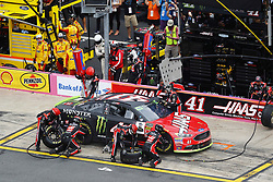 September 30, 2018 - Concord, North Carolina, United States of America - Kurt Busch (41) brings his car down pit road for service during the Bank of America ROVAL 400 at Charlotte Motor Speedway in Concord, North Carolina. (Credit Image: © Chris Owens Asp Inc/ASP via ZUMA Wire)