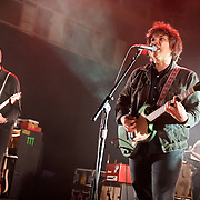 Jeff Tweedy (right) of Wilco performs at the Strathmore Music Hall in Bethesda, MD.