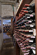 At a wine producer's in Montepulciano in southern Tuscany