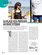 BE - 8 JUILLET 2011.Plage non fumeur - La Ciotat...