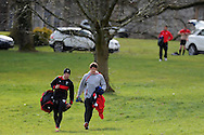 Wales rugby team training at the Vale, Hensol near Cardiff, South Wales on Tuesday 12th March 2013.  the team are training ahead of the final RBS Six nations match against England this weekend. pic by  Andrew Orchard, Andrew Orchard sports photography,
