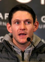 Gavin McDonnell during the press conference at Sheffield Town Hall.