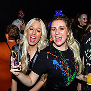 Larissa Eddie,Hayley Palmer attend the preview PhoboPhobia Live Halloween Show on 10th October 2019, at The London Bridge Experience & London Tombs, London, UK.