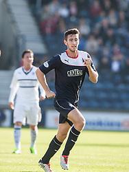 Falkirk's Kieran Duffie.<br /> Raith Rovers 1 v 1 Falkirk, Scottish Championship 28/9/2013.<br /> ©Michael Schofield.