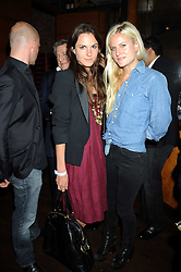 """Left to right, FRAN HICKMAN and OLYMPIA SCARRY at a party and exclusive private view of 'Naked Portrait With Reflection"""" by Lucian Freud hosted by Christie's held at 17 Berkeley Street, London on 17th June 2008.<br /><br />NON EXCLUSIVE - WORLD RIGHTS"""