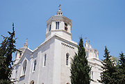 Israel, Jerusalem, Exterior of The holy Trinity Cathedral