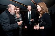 SIR PETER HALL; LADY HALL; SIR NICHOLAS SEROTA;  REBECCA IRVIN,, Miroslaw Balka/John Baldessari Opening Reception, Tate Modern. Monday 12 October