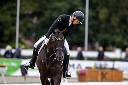Noerby Soerensen Jacob, SWE, Katholt's Hamilton<br /> World Championship Young Horses Verden 2021<br /> © Hippo Foto - Dirk Caremans<br /> 27/08/2021