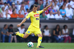 August 1, 2017 - Munich, Germany - Vlad Chiriches of Napoli during the first Audi Cup football match between Atletico Madrid and SSC Napoli in the stadium in Munich, southern Germany, on August 1, 2017. (Credit Image: © Matteo Ciambelli/NurPhoto via ZUMA Press)