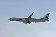 4X-EHD EL AL Israel Airlines, Boeing 737-900 at Malpensa (MXP / LIMC), Milan, Italy