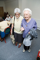 People at the Nottingham Royal Society for the Blind (NRSB),