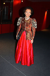 """LADY NEWALL at the 10th annual British Red Cross London Ball.  This years ball theme was Indian based - """"Yaksha - Yakshi: Doorkeepers to the Divine"""" and was held at The Room, Upper Ground, London on 1st December 2004.  Proceeds from the ball will aid vital humanitarian work, including HIV/AIDS projects that the Red Cross supports in the UK and overseas.<br /><br />NON EXCLUSIVE - WORLD RIGHTS"""