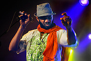 Nederland, Nijmegen, 31-5-2009MusicMeeting. Anthony Joseph and the Spasm band uit Jamaica.Foto: Flip Franssen/Hollandse Hoogte