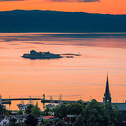 www.aziznasutiphotography.com                                      This picture has been taken from Utsikten in Trondheim in July