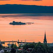 www.aziznasutiphotography.com                                      This picture has been taken from Utsikten in Trondheim in July