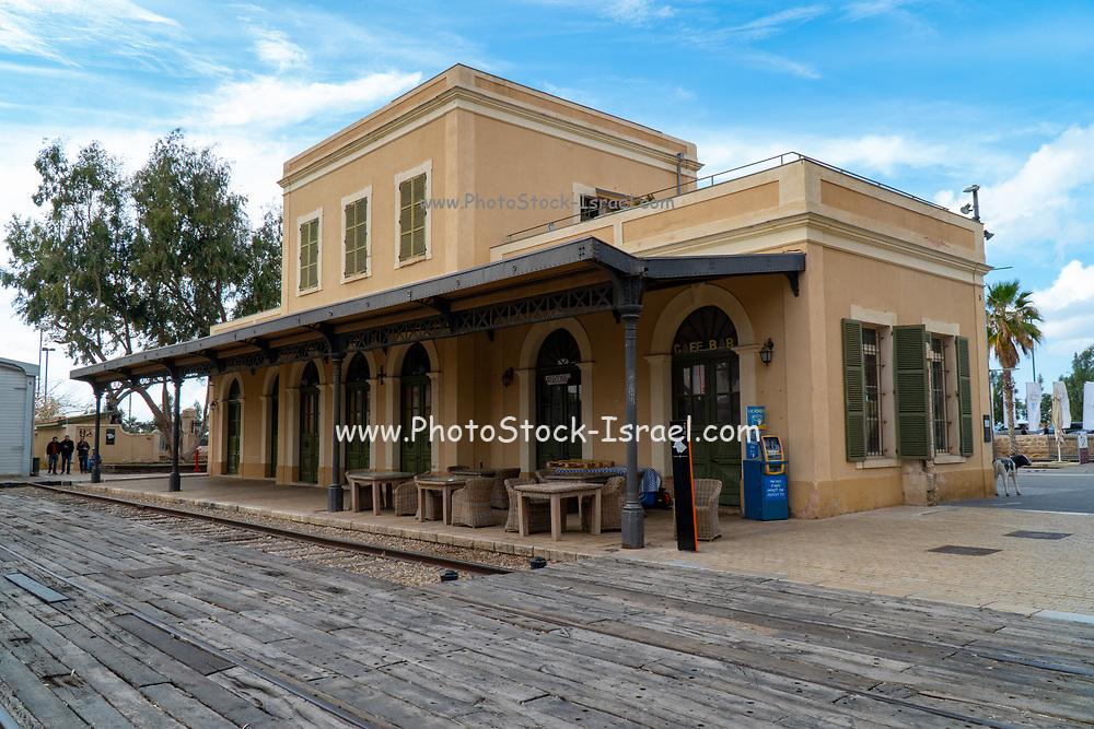 Israel, Tel Aviv, Neve Tzedek, Hatachana complex, a renovated Ottoman train station that was originally built to serve Jaffa