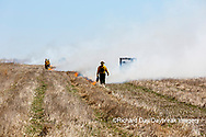 63863-02720 Prescribed Burn by IDNR Prairie Ridge State Natural Area Marion Co. IL