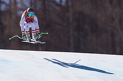 February 17, 2018 - PyeongChang, South Korea - ANNA VEITH of Austria during Alpine Skiing: Ladies Super-G at Jeongseon Alpine Centre at the 2018 Pyeongchang Winter Olympic Games. (Credit Image: © Patrice Lapointe via ZUMA Wire)