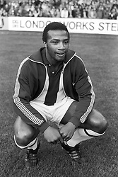 File photo dated 17-09-1977 of West Bromwich Albion's Cyrille Regis.