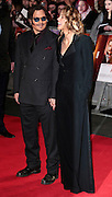 Jan 19, 2015 -'Mortdecai' - UK Premiere - Red Carpet Arrivals at Empire,  Leicester Square, London<br /> <br /> Pictured: Johnny Depp and Amber Heard<br /> <br /> UNITED KINGDOM OUT