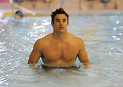 Scotland winger Max Evans during the teams recovery session.<br /> Scotland rugby union team post match recovery session, Rugby World Cup, Southland Aquatic Centre, Invercargill, Southland, New Zealand, Sunday 10th September 2011<br /> PLEASE CREDIT ***FOTOSPORT/DAVID GIBSON***
