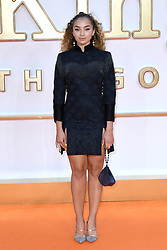 Ella Eyre attending the Kingsman: The Golden Circle World Premiere held at Odeon and Cineworld Cinemas, Leicester Square, London. Picture date: Monday 18th September 2017. Photo credit should read: Doug Peters/Empics Entertainment