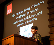Feb. 20, 2014 - Bechtler Museum of Modern Art's Bechtler Young Visionaries and invited guests attended a lecture presented by Duke Energy CEO (and Bechtler Board Member) Lynn Good. © 2014 Wendy Yang Photography