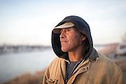 Yellowstone to the Standing Rock Sioux Reservation in North Dakota.  Following the water.<br /> <br /> Photo by David Stubbs