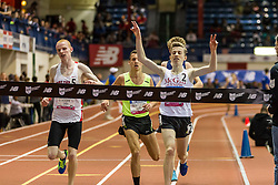 NSAF 2014 New Balance Nationals Indoor, boys two-mile, won by Cooper