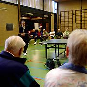 Tafeltennisvereniging 50+ TTV Huizen bestaat 15 jaar