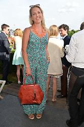 HANNELI RUPERT at the Laureus Polo held at Ham Polo Club, Ham, Richmond, Surrey on 18th June 2015.