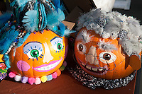 Decorated Pumpkin Competition display at the Naional Botanic Garden celebrating Halloween,  Saturday October 24th 2015, Glasnevin, Dublin, Ireland