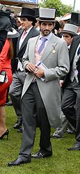 Sheikh Hamdan Bin Mohammed Bin Rashid Al Maktoum  at the Investec Derby 2013 held at Epsom Racecourse, Epsom, Surrey on 1st June 2013.