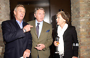 Mark Shand, Don McCullin and Patti Palmer- Tompkinson. Book party for LAST VOYAGE OF THE VALENTINA by Santa Montefiore (Hodder & Stoughton) Asprey,  New Bond St. 12 April 2005. ONE TIME USE ONLY - DO NOT ARCHIVE  © Copyright Photograph by Dafydd Jones 66 Stockwell Park Rd. London SW9 0DA Tel 020 7733 0108 www.dafjones.com