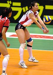 Nederland - China 3-0<br /> OKT Japan Volleybal / Tokyo / 18-06-2000 <br /> Copyrights : Ronald Hoogendoorn
