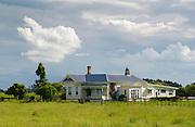 Traditional homestead , North Island, New Zealand
