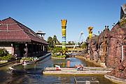 Mighty Mountain Flume Adventure in the South Pacific themed area at Leofoo Village amusement park.