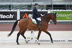 Davi Salazar Pessoa Mesquita, (BRA), Balthasar - Team Competition Grade Ib Para Dressage - Alltech FEI World Equestrian Games™ 2014 - Normandy, France.<br /> © Hippo Foto Team - Jon Stroud <br /> 25/06/14