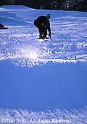 Snow board jumping,  NE PA ski slope, Poconos