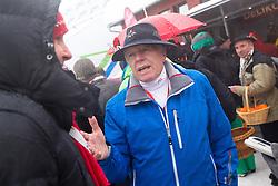 Tone Vogrinec after cancellation to the race during the 1st Run of 50th Golden Fox Audi Alpine FIS Ski World Cup Ladies Giant Slalom, on February 1, 2014 in Podkoren, Kranjska Gora, Slovenia. (Photo By Matic Klansek Velej / Sportida.com)