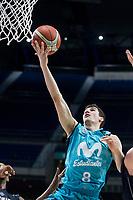 Movistar Estudiantes Dario Brizuela during Basketball Champions League match between Movistar Estudiantes and Donar Groningen at Wizink Center in Madrid, Spain October 02, 2017. (ALTERPHOTOS/Borja B.Hojas)