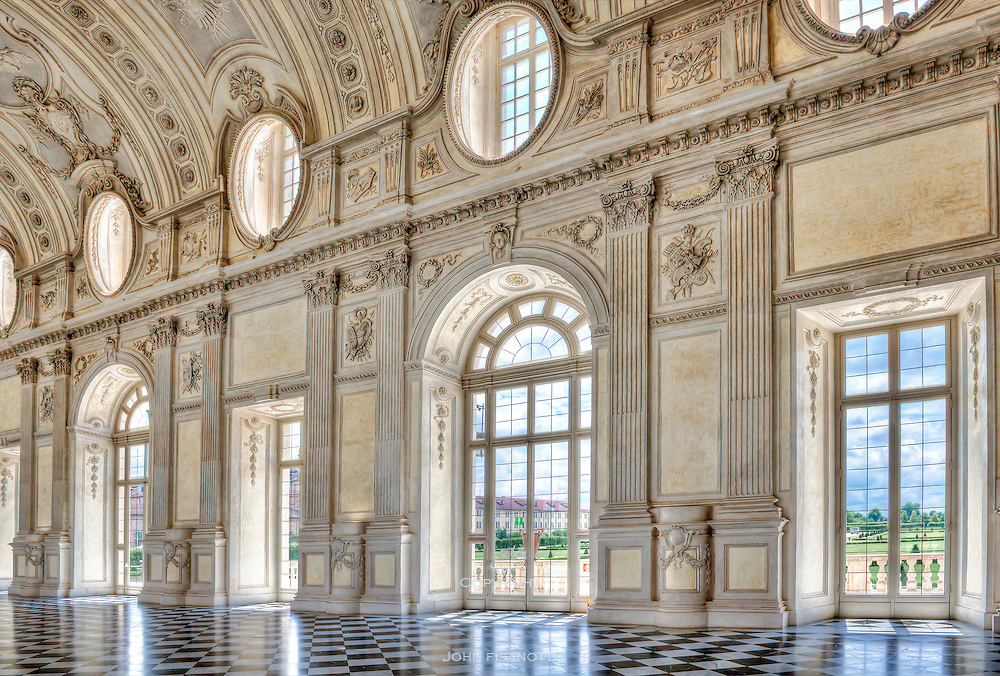 La Venaria Reale, Torino, Italy.  The royal palace of the House of Savoy.