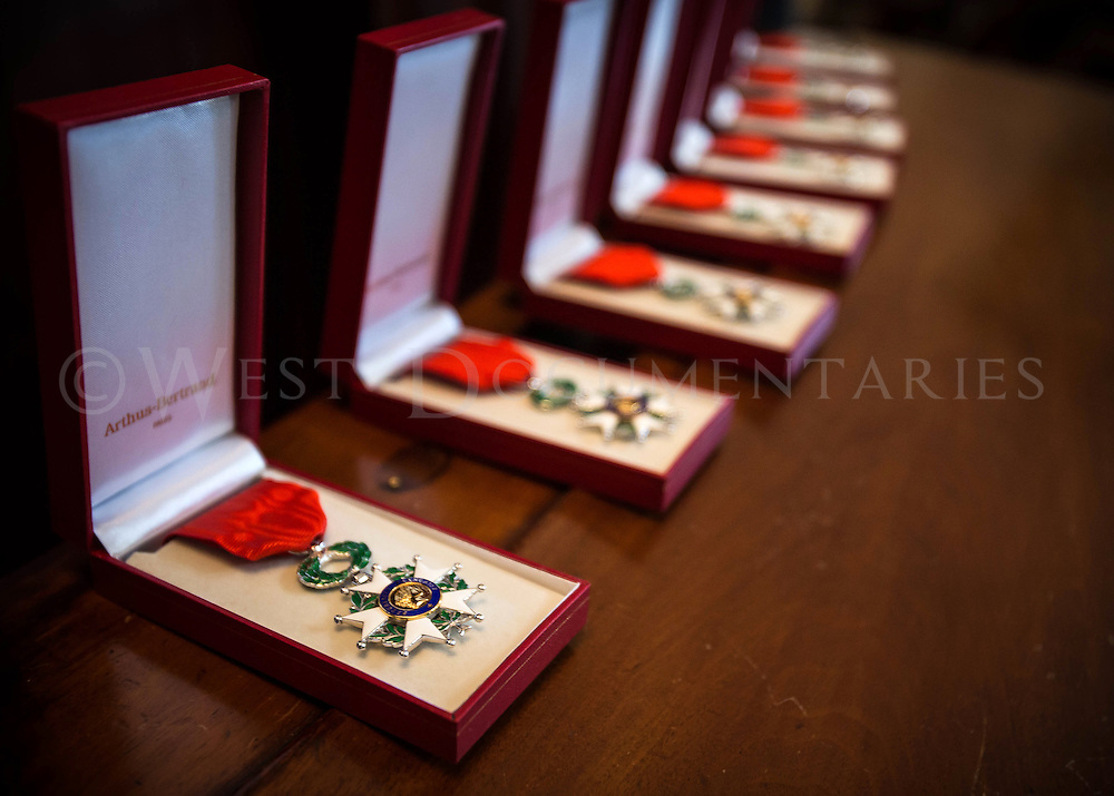 Legion Of Honor Ceremonial medals. The Legion Of Honor is the highest award bestowed by the French government.