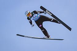 31.12.2020, Olympiaschanze, Garmisch Partenkirchen, GER, FIS Weltcup Skisprung, Vierschanzentournee, Garmisch Partenkirchen, Qualifikation, Herren, im Bild Domen Prevc (SLO) // Domen Prevc of Slovenia during qualification jump of men's Four Hills Tournament of FIS Ski Jumping World Cup at the Olympiaschanze in Garmisch Partenkirchen, Germany on 2020/12/31. EXPA Pictures © 2020, PhotoCredit: EXPA/ JFK